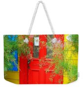 Colorful Entrance ... Weekender Tote Bag