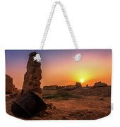 Colorful Evening In The Ruined World.. Weekender Tote Bag