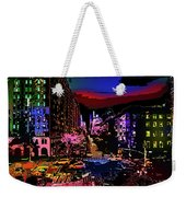 Colorful Evening Shadows Weekender Tote Bag