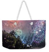 Colorful Explosions Weekender Tote Bag