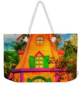 Colorful Fantasy Windmill Weekender Tote Bag