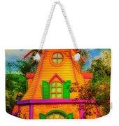 Colorful Fantasy Windmill Weekender Tote Bag