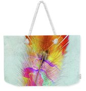 Colorful Feather Art Weekender Tote Bag