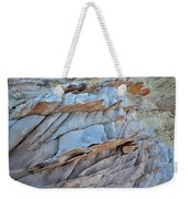 Colorful Fins Of Sandstone In Valley Of Fire Weekender Tote Bag