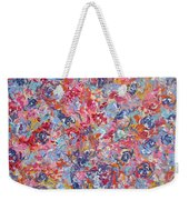 Colorful Floral Bouquet. Weekender Tote Bag