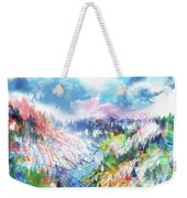 Colorful Forest 5 Weekender Tote Bag