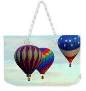 Colorful Four Weekender Tote Bag