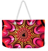 Colorful Fractal Art With Candy-colors Weekender Tote Bag