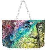 Colorful Franklin Weekender Tote Bag