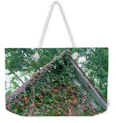 Colorful Gable Weekender Tote Bag
