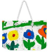 Colorful Garden Weekender Tote Bag