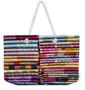 Colorful Garment Weekender Tote Bag