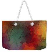 Colorful Geometric Pattern Abstract Art Weekender Tote Bag