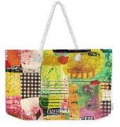 Colorful Geometric Weekender Tote Bag