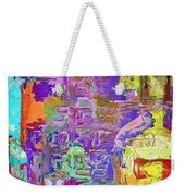 Colorful Glass Bottles Abstract Weekender Tote Bag