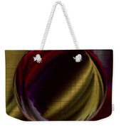 Colorful Glass Marble Art  Weekender Tote Bag