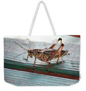 Colorful Grasshopper Weekender Tote Bag