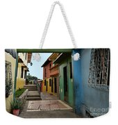 Colorful Guayaquil Alley Weekender Tote Bag