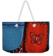 Colorful Hanging Pouches Weekender Tote Bag