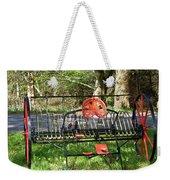 Colorful Hay Rake Weekender Tote Bag