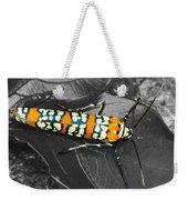 Colorful Insect - Ornate Bella Moth Weekender Tote Bag