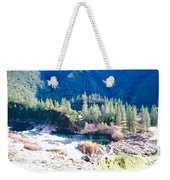 Colorful Landscape Weekender Tote Bag