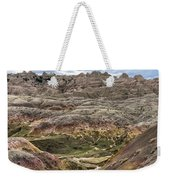 Colorful Layered Mountains  Weekender Tote Bag