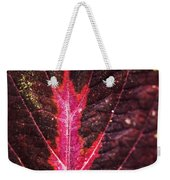 Colorful Leaf By Mother Nature Weekender Tote Bag