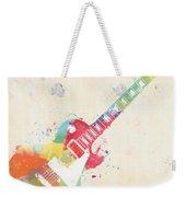 Colorful Les Paul Weekender Tote Bag