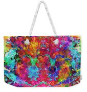Colorful Life Weekender Tote Bag