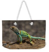 Colorful Lizard Weekender Tote Bag