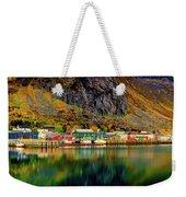 Colorful Lofoten, Norway Weekender Tote Bag