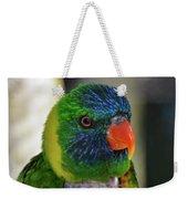 Colorful Lorikeet Weekender Tote Bag