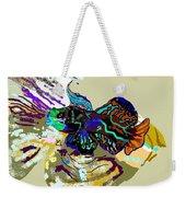 Colorful Manderin Fish Weekender Tote Bag