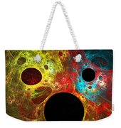 Colorful Masks Weekender Tote Bag