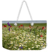 Colorful Meadow With Wild Flowers Weekender Tote Bag