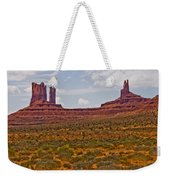 Colorful Monument Valley Weekender Tote Bag