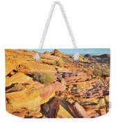 Colorful Morning At Valley Of Fire Weekender Tote Bag