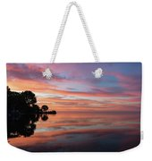 Colorful Morning Mirror - Spectacular Sky Reflections At Dawn Weekender Tote Bag