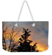 Colorful Nightfall Weekender Tote Bag