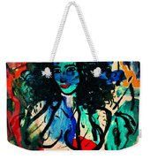 Colorful Nude Weekender Tote Bag