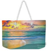 Colorful Ocean Sky Weekender Tote Bag