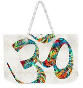 Colorful Om Symbol - Sharon Cummings Weekender Tote Bag