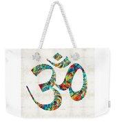 Colorful Om Symbol - Sharon Cummings Weekender Tote Bag