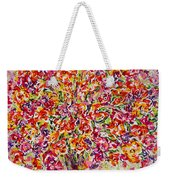 Colorful Organza Weekender Tote Bag