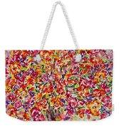 Colorful Organza Weekender Tote Bag