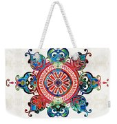Colorful Pattern Art - Color Fusion Design 3 By Sharon Cummings Weekender Tote Bag