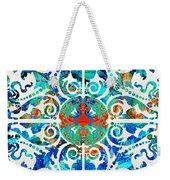Colorful Pattern Art - Color Fusion Design 5 By Sharon Cummings Weekender Tote Bag