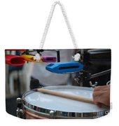 Colorful Percussion Weekender Tote Bag