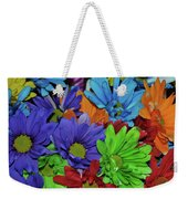 Colorful Petals Weekender Tote Bag